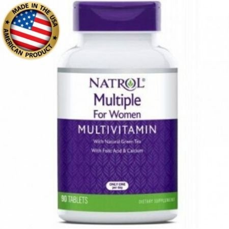 Multivitamínico Multiple For Women - (90 tabs) - Natrol