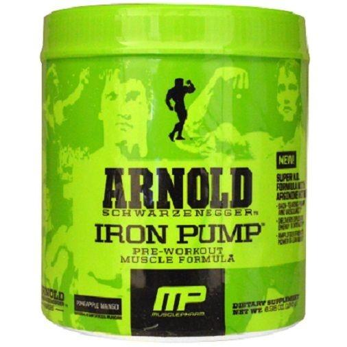 Iron Pump Arnold Schwarzenegger Series (180g) - Pré-Treino Importado - MusclePharm
