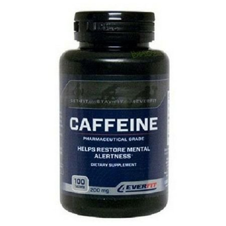 Caffeine 200 mg (100 caps) - 4Ever Fit