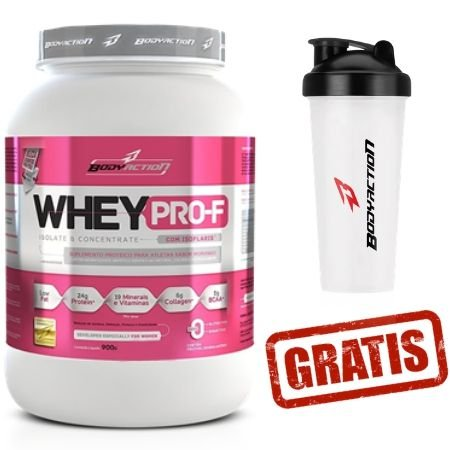 Whey Feminino - PRO-F - Isoflaris- Body Action