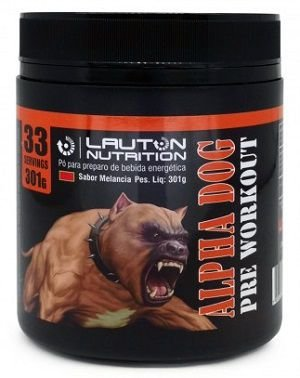 Alpha Dog Pre Workout (301g) - Lauton Nutrition