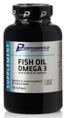 Fish Oil Omega 3 1000mg - (100 cápsulas) - Performance Nutrition