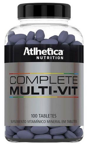 Complete Multi-Vit Multivitamínico (100 tabs) - Atlhetica Nutrition