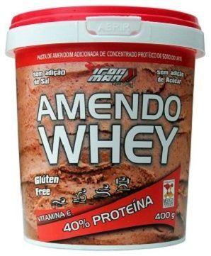 Amendoim Whey (400g) - New Millen