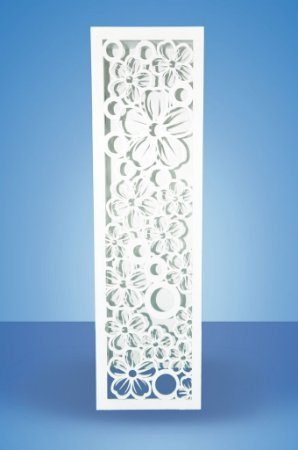 Coluna Floral Branco