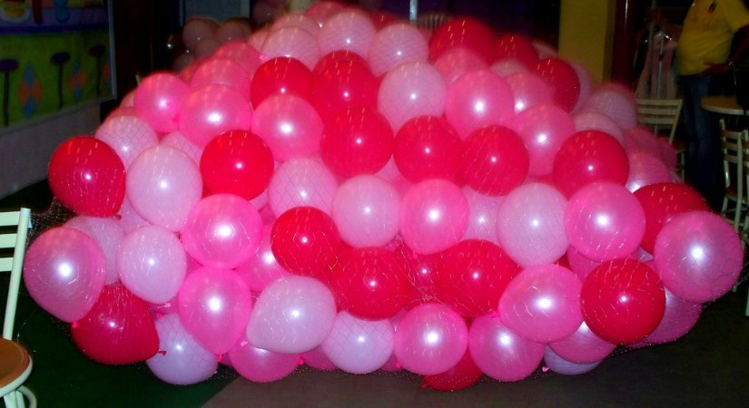 Chuva de Balões ou revoada de balões.