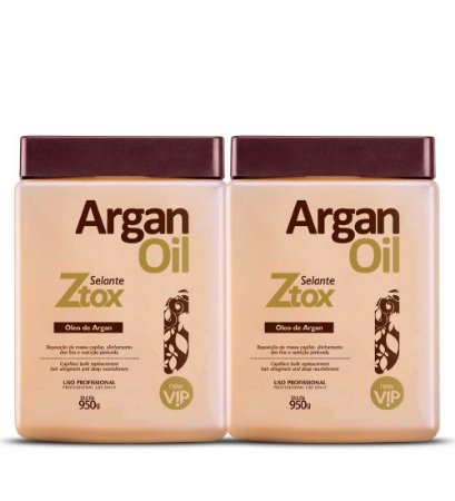 2 Vip Argan Oil Ztox Selante 950g