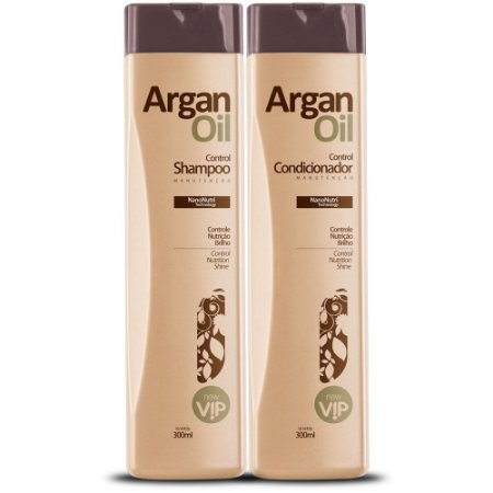 Vip Shampoo e Condicionador Argan Oil Manutenção 2x300ml