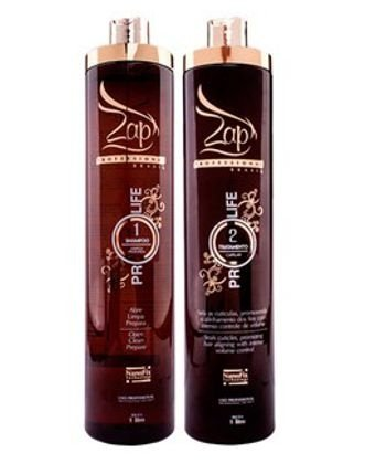 Zap Escova Progressiva Hair Protection  ( 2 X 1 LITRO )