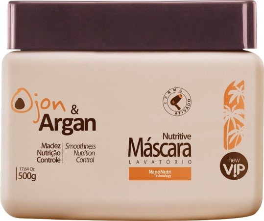 Vip Ojon e Argan Mascara Nutritive 500gr New Vip
