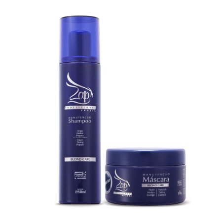 Zap Blond Care Kit Duo Matização Home Care