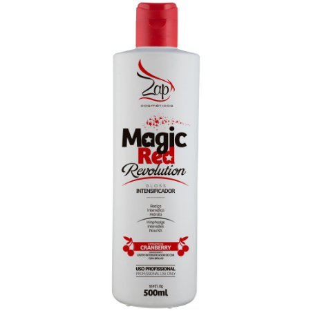 Intensificador Magic Red Revolution para Cabelos Vermelhos 500ml