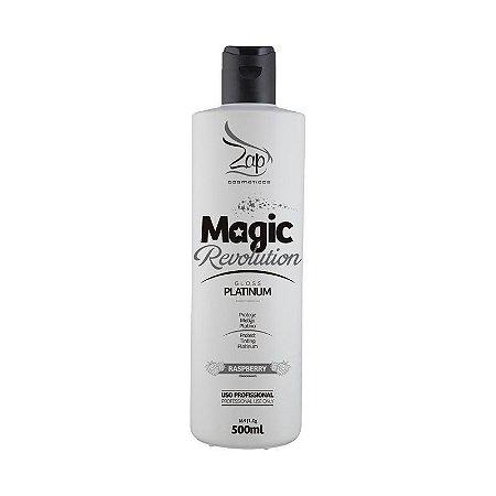 Matizador  MAGIC REVOLUTION GLOSS PLATINUM 500 ml