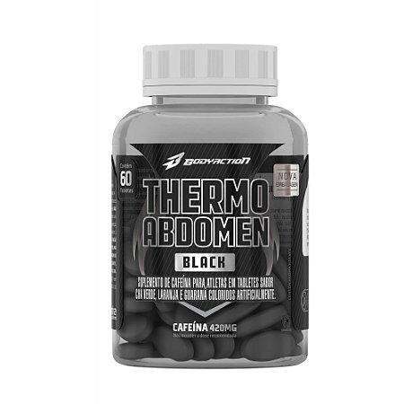 THERMO ABDOMEN BLACK 60 TABLETES - BODYACTION