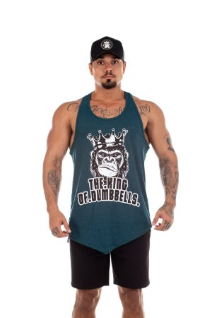 REGATA KING OF DUMBELLS VERDE - MACACO BLINDADO