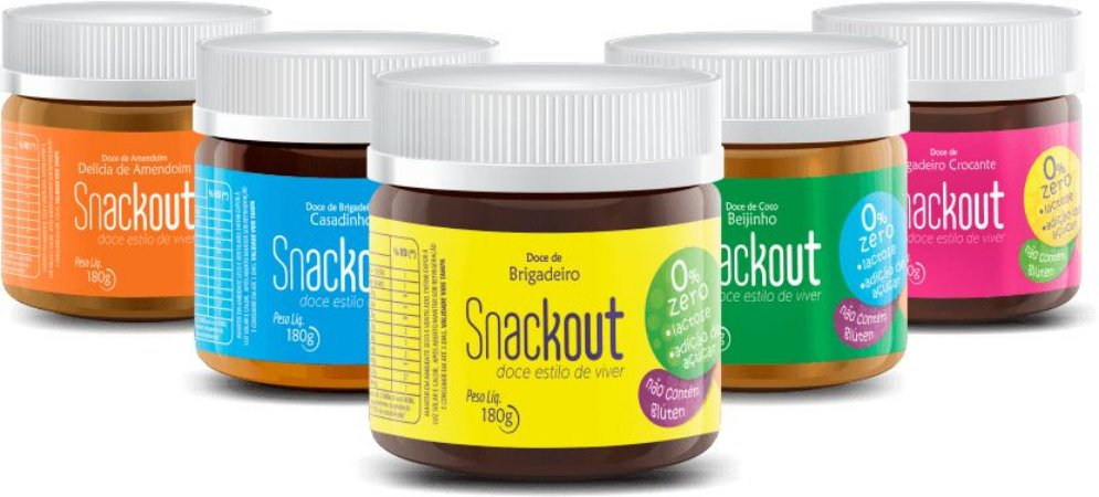DOCES SNACKOUT - 180G