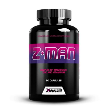 Z-MAN 90 CAPSULAS - XCORE NUTRITION