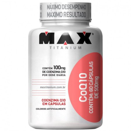 CoQ10 60 CÁPSULAS - MAX TITANIUM