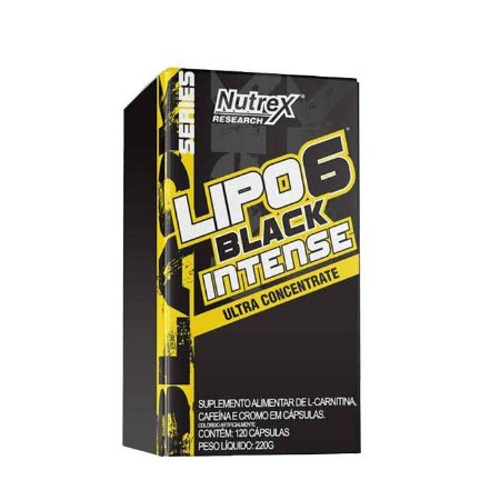 LIPO 6 BLACK INTENSE 60 CAPS - NUTREX