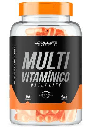 MULTIVITAMINICO DAILY LIFE 60 CAPS - FULLIFE