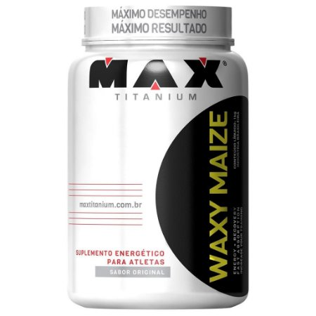 WAXY MAIZE SABOR NATURAL 1KG - MAX TITANIUM