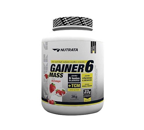 GAINER 6 MASS 3KG - NUTRATA