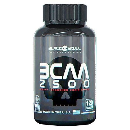 BCAA 2500 - 100 TABLETES - BLACK SKULL