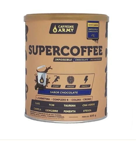 SUPER COFFEE IMPOSSIBLE CHOCOLATE - CAFFEINE ARMY