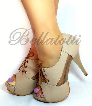 Ankle Boot Stivaletto Nudo