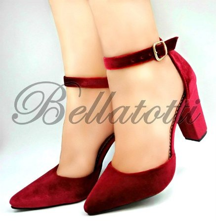 Scarpin Dolce Rosso