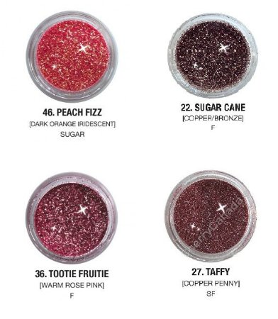 Glitter e Pigmento Eye Kandy - Fração com 0,5g