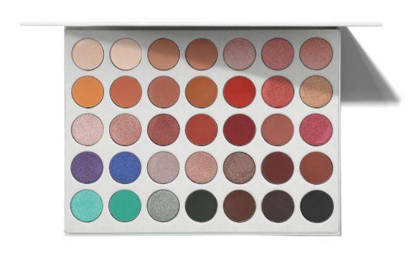 Paleta Jaclyn Hill - 35 cores de sombra. Morphe