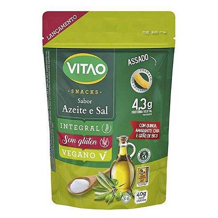 Snack Azeite e Sal Vegano Vitao 40g