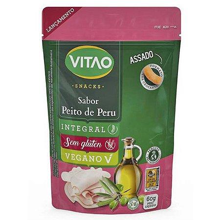 Snack Peito de Peru Vegano Vitao 40g