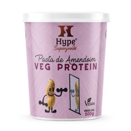 Pasta de Amendoim Veg Protein Hype 500g