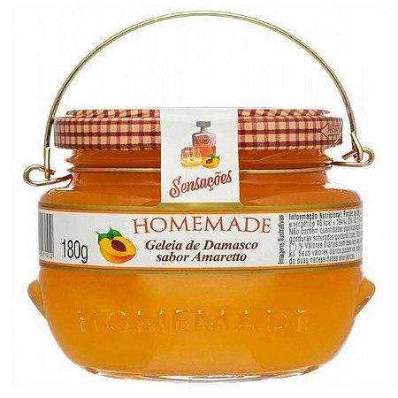 Geleia de Damasco com Amaretto Homemade 180g