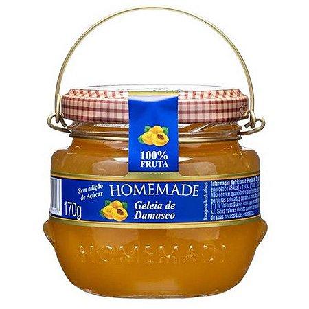 Geleia de Damasco 100% Fruta Homemade 170g