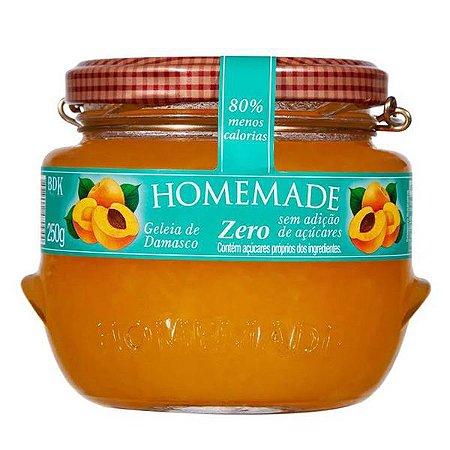 Geleia de Damasco Zero Homemade 250g