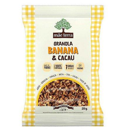 Granola Banana e Cacau Mãe Terra 250g