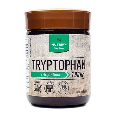 Tryptophan 60 Cápsulas Nutrify