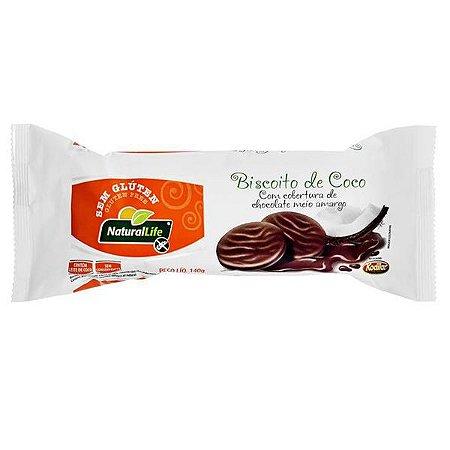 Biscoito de Coco com Chocolate Natural Life 140g