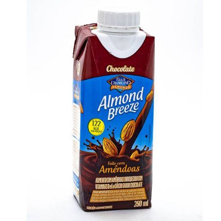 Leite Amêndoas com Chocolate Almond Breeze 250ml