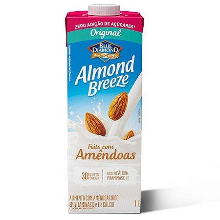 Leite de Amêndoas Original Zero Almond Breeze 1L