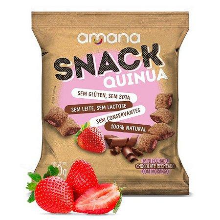 Snack de Quinoa com Morango Amana 40g