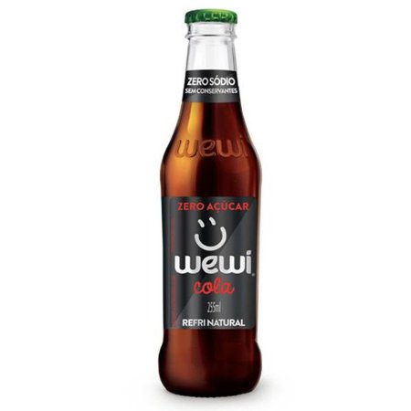 Refrigerante Orgânico Cola Zero Wewi 255ml