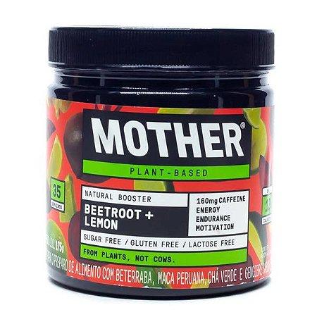 Pré-Treino Vegano Beetroof Limão Mother 175g