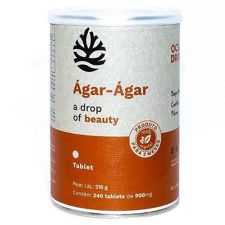 Ágar-Ágar 240 Tabletes Ocean Drop 216g