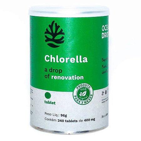 Chlorella 240 Tabletes Ocean Drop