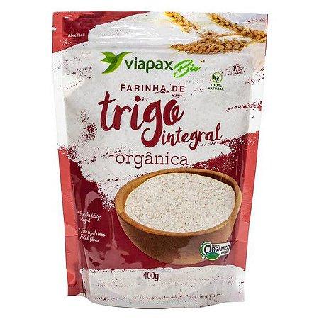 Farinha de Trigo Integral Orgânica Viapax 400g