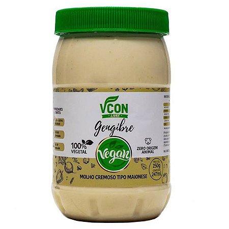 Maionese Vegana Gengibre VCon 250g